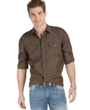 American Rag Shirt, EDV Chambray Button Down
