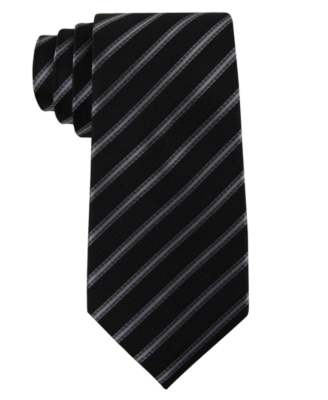 Kenneth Cole New York Tie, Stripe Skinny