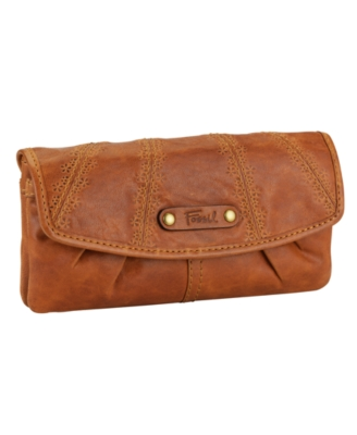Fossil Wallet, Talita Flap Clutch