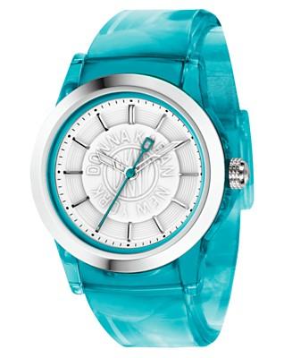 DKNY Watch, Women's Blue Polyurethane Strap NY4847