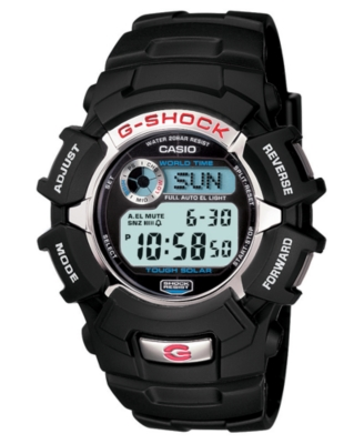 G-Shock Watch, Men's Chronograph Black Resin Bracelet G2310R-1