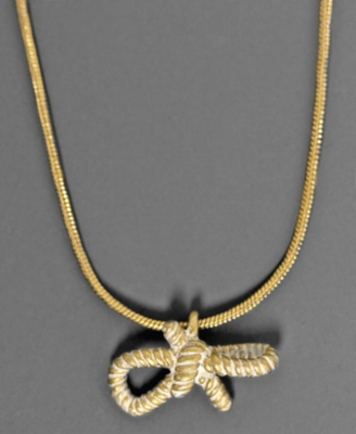 Rachel Rachel Roy Necklace, Rope Bow