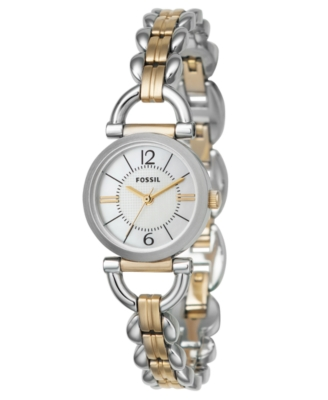 Fossil Watch, Women's Two-Tone Stainless Steel Bracelet ES2494