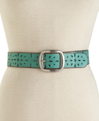 Fossil Belt, Perforated Strap
