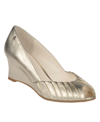 Etienne Aigner Shoes, Uma Wedges Women's Shoes