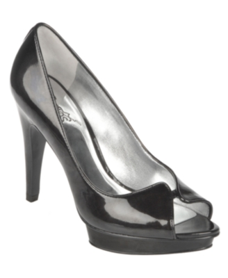 Carlos by Carlos Santana Shoes, Pleasure Pumps Women's Shoes - Peep Toe Pumps