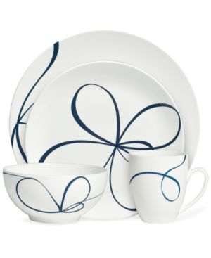 Vera Wang Wedgwood Dinnerware, Glisse 4 Piece Place Setting