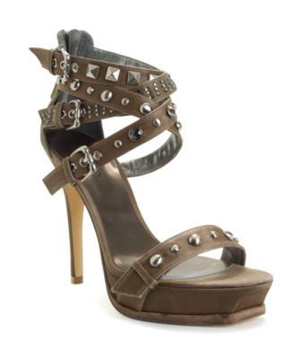 Guess Shoes, Kenvil Platform Sandals Women's Shoes
