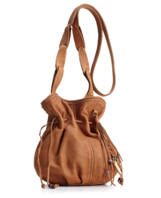 Lucky Brand Jeans Handbag, Drifter Leather Crossbody Bag, Small