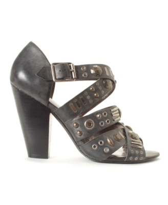 DKNYC Shoes, Josie Sandals Women's Shoes - Studded Sandals