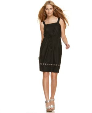 MICHAEL Michael Kors Dress, Sleeveless Empire Waist