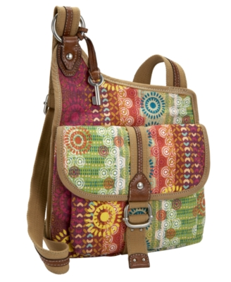 Fossil Handbag, Destin Traveler Bag