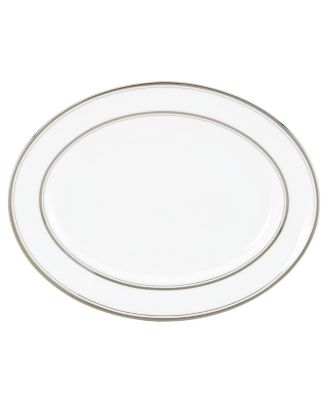 kate spade new york Library Lane Platinum Oval Platter
