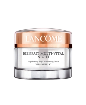 Lancôme Bienfait Multi-Vital Night High Potency Night Moisturizing Cream Vita-Nutri 8(tm), 1.7 Oz.