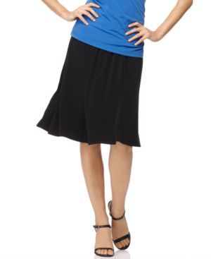 Elementz Skirt, B Slim Knee Length Knit