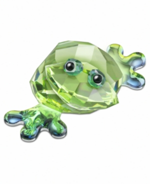 Swarovski Collectible Figurine, Lovlots City Park Frog Romeo - Retired