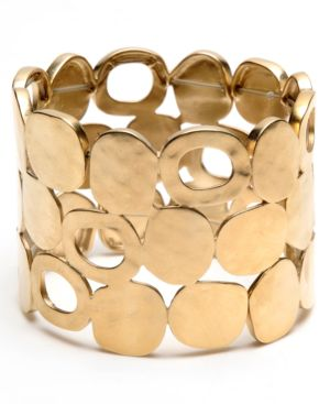 Kenneth Cole New York Bracelet, Goldtone Cuff