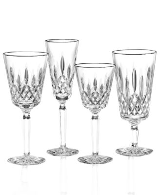 Waterford Stemware, Lismore Tall Platinum Wine Glass