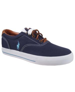 Polo Ralph Lauren Shoes, Vaughn Canvas Sneakers Men's Shoes