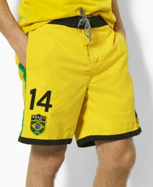 Polo Ralph Lauren Swimwear, Brazil Field Trunk