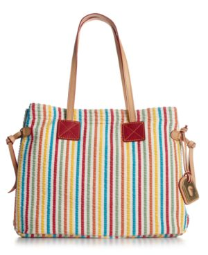 Dooney & Bourke Handbag, Candy Striped Victoria Bag