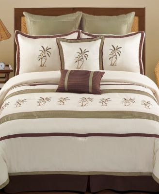Montego Bay 8 Piece California King Comforter set