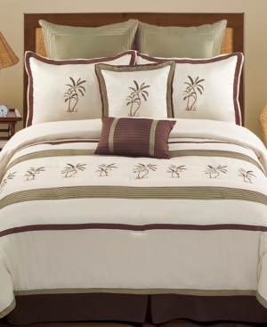 Montego Bay 8 Piece California King Comforter set Bedding