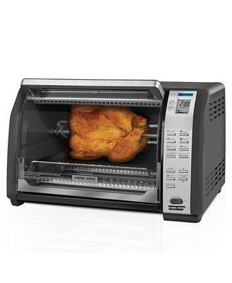 Black Amp Decker Ct07100b Toaster Oven Electrics Kitchen