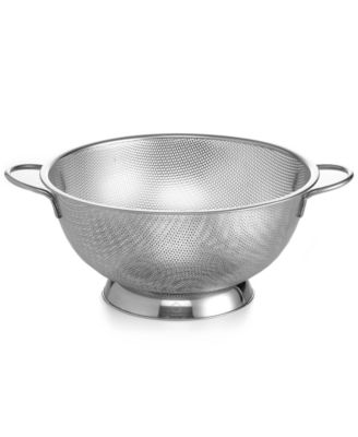 Martha Stewart Collection Stainless Steel Colander, 5 Qt.