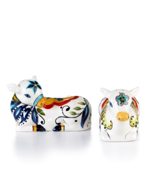 Tabletops Unlimited Dinnerware, Bocca Cow Salt and Pepper Shakers