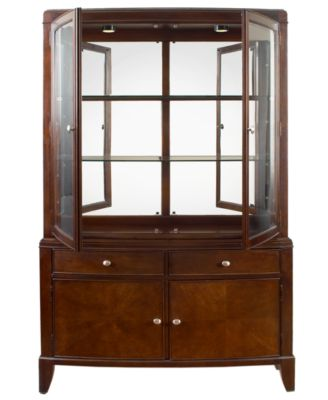 Metropolitan China Cabinet - Furniture - Macy's