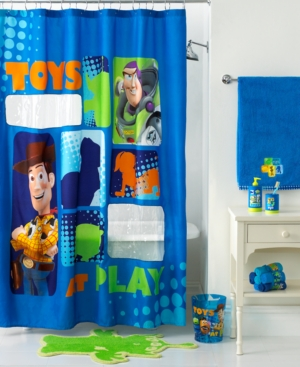 Disney Bath Accessories, Toy Story Shower Curtain