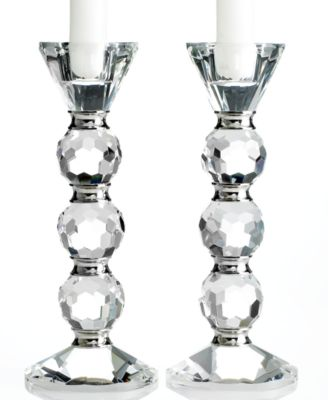 lighting by design candle holders set of 2 afterglow