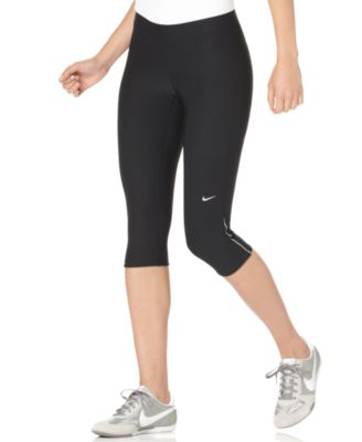 Nike Pants, Dri-FIT Filament Athletic Capri Leggings - Pants ...