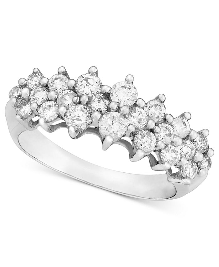 Macy's - Diamond Band (1 ct. t..w) in 14k White Gold, Gold or Rose Gold