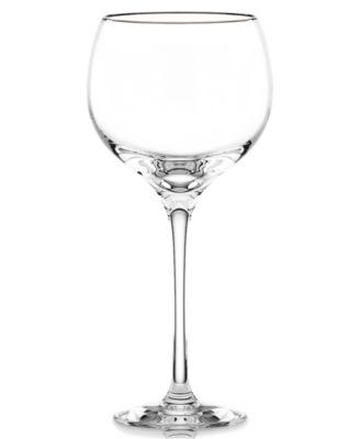 Lenox Stemware, Solitaire Platinum Signature Goblet