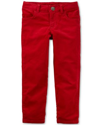 Carter's Corduroy Pants, Toddler Girls (2T-4T) - Leggings & Pants ...
