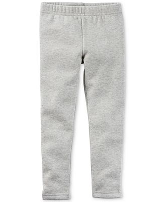 Carter's Heathered Grey Sparkle Leggings, Toddler Girls (2T-5T ...