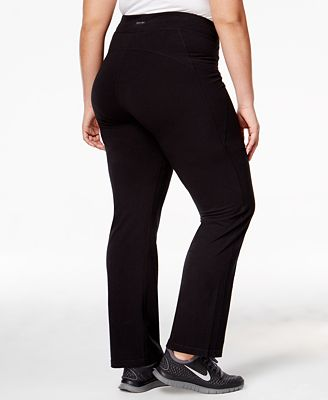 Calvin Klein Performance Plus Size Slimming Leggings - Pants ...