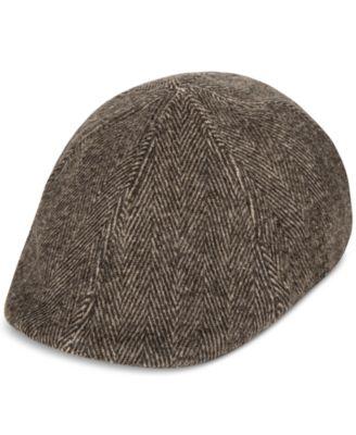 Tommy Hilfiger Men's Quilted Flat Cap - Hats, Gloves & Scarves ...