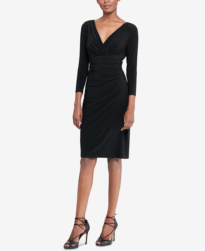 Lauren Ralph Lauren - Jersey Surplice Dress