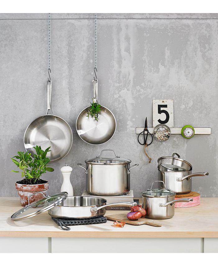 Calphalon - Classic Stainless Steel Cookware, 10 Piece Set