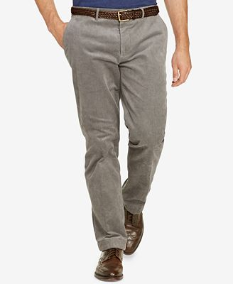 Polo Ralph Lauren Men's Big & Tall Stretch Classic-Fit Corduroy ...