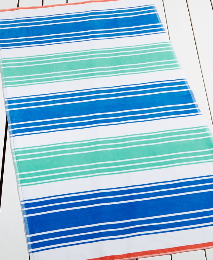 Martha Stewart Collection - Catamaran Stripe Beach Towel