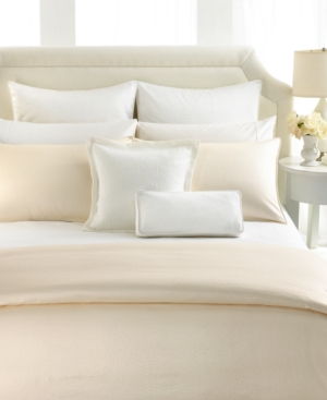 Barbara Barry Bedding, Polished Pique Pleated California King Bedskirt Bedding