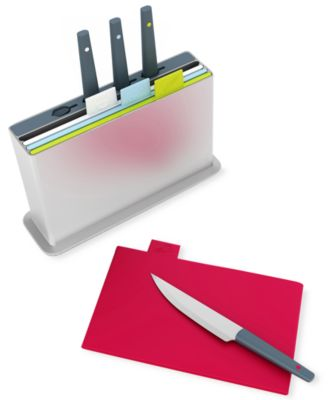 Joseph Joseph Index Knife and Cutting Board Set, 9 Piece