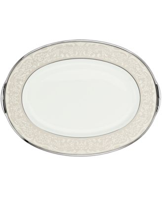 "Noritake ""Silver Palace"" Medium Oval Platter"