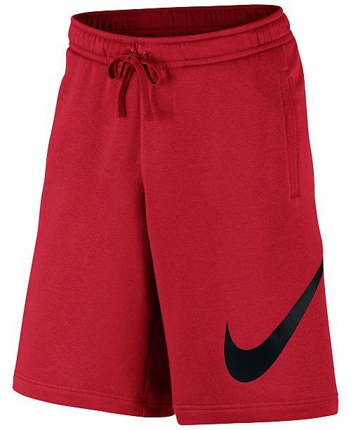 Nike Men's Club Fleece Sweat Shorts & Reviews - Shorts - Men ...