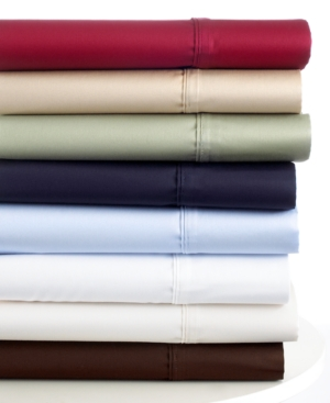 Lauren by Ralph Lauren Bedding, Dunham 300 Thread Count Sateen Queen Sheet Set Bedding