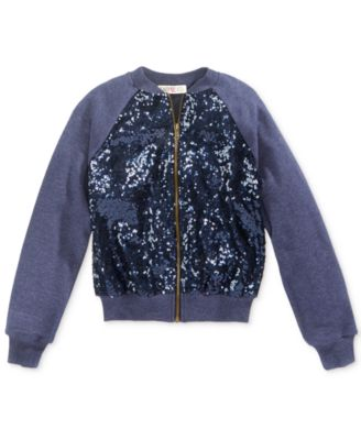 Kandy Kiss Patch Bomber Jacket, Big Girls (7-16) - Coats & Jackets ...